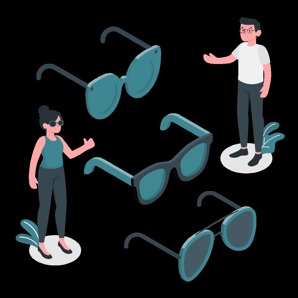 Stories glasses